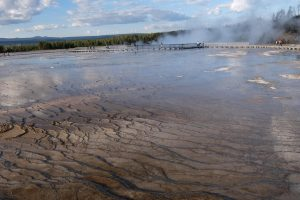 Yellowstone hot lakes district