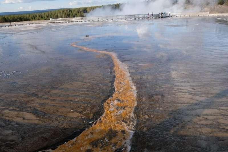 Yellowstone grand prismatic