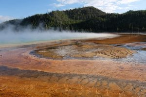 Yellowstone vista su grand prismatic