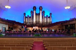 Salt Lake City the tabernacle