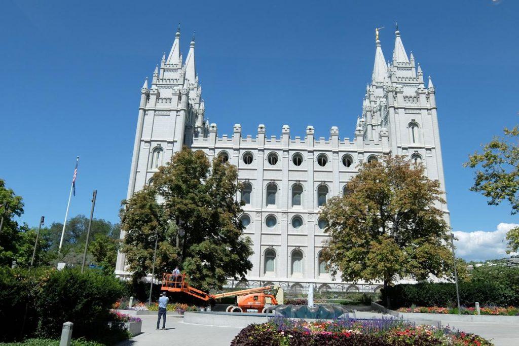 Salt Lake City tempio dei mormoni