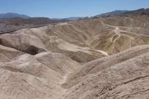 Death valley Zabrinskie point