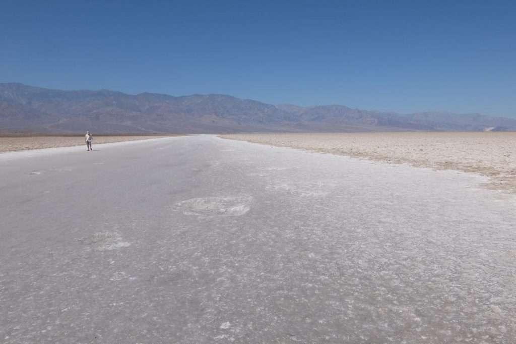 Death valley deserto di sale