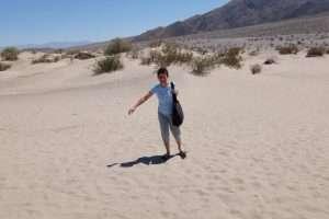 Valle della morte le dune