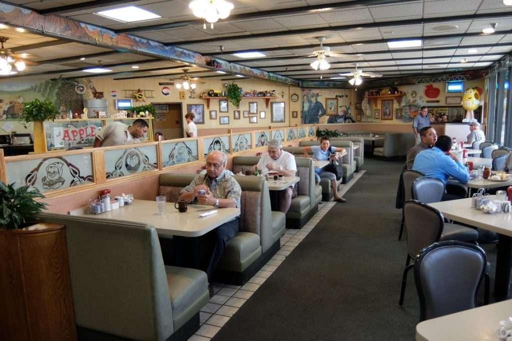 Sala ristorante per la colazione
