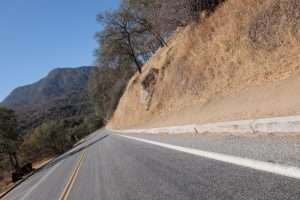 Sequoia national park strada