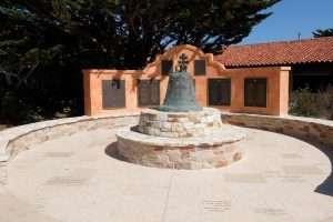 La campana della missione di Carmel
