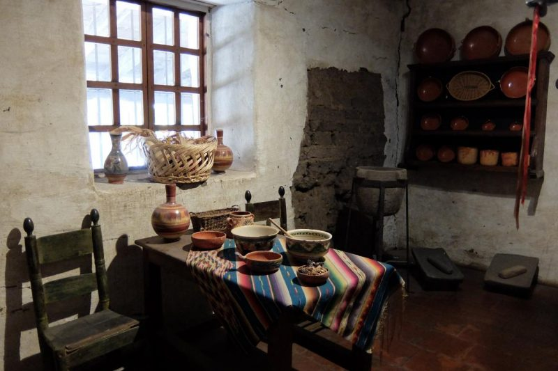 carmel mission's kitchen