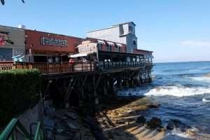 Monterey molo California