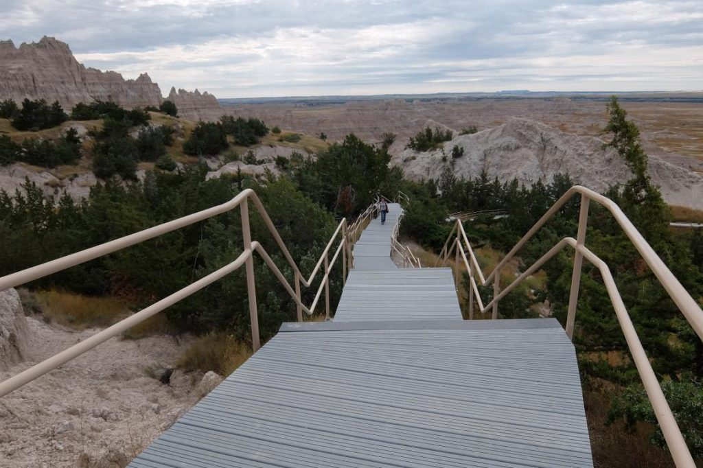 Badlands South Dakota passerella