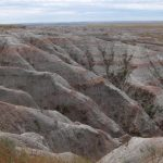 BADLANDS COSA VEDERE SOUTH DAKOTA