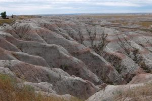 South Dakota Badlands stratificazioni