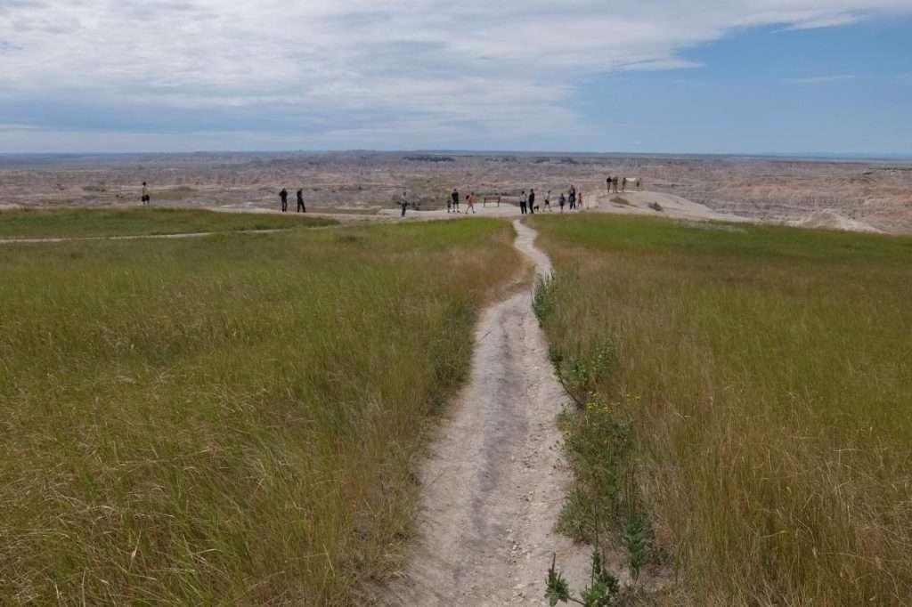 Badlands sentiero al punto panoramico
