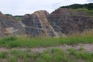 Black Hills miniera vicino a Deadwood