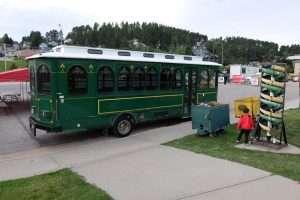 South Dakota Black Hills bus storico