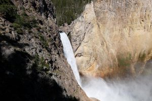 Yellowstone vista sulle upper falls