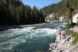 Yellowstone il fiume omonino