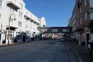 Monterey shopping street California