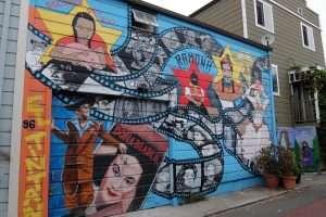 Murale di San Francisco