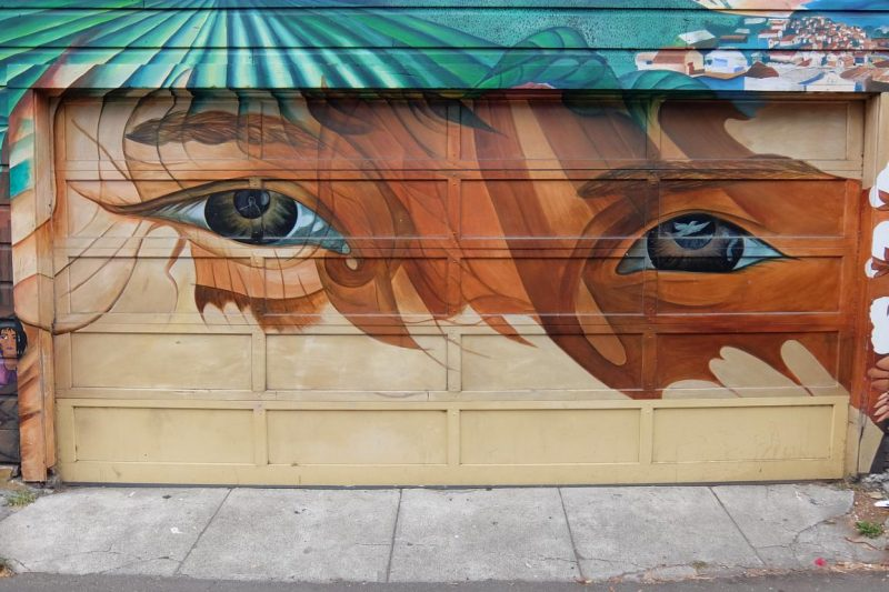 san francisco's murals