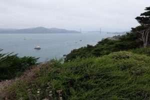 Golden Gate Bridge da lontano