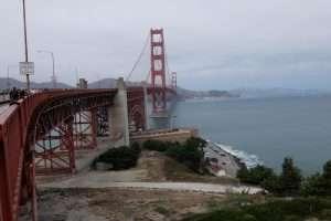 Golden Gate Bridge San Francisco salita