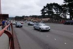 Golden Gate Bridge San Francisco imbocco ponte