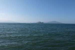 Alcatraz da lontano