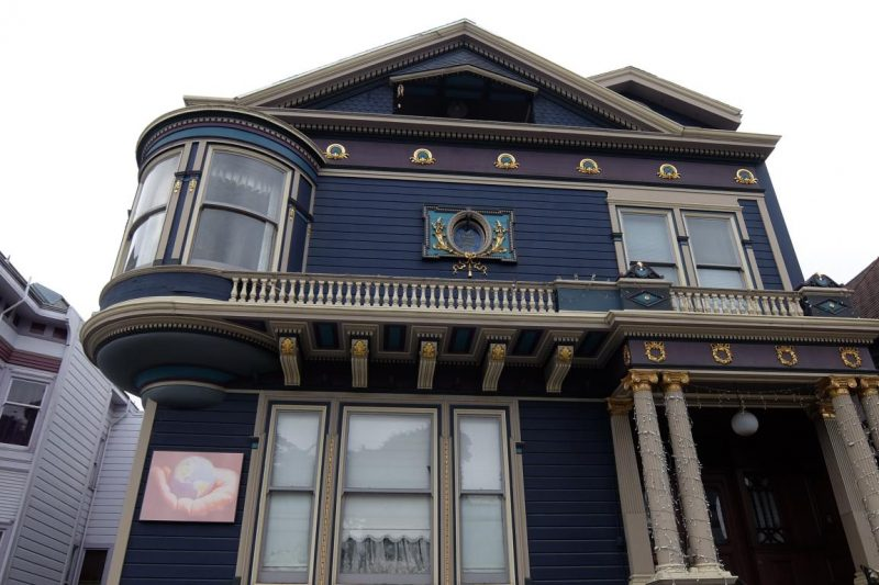 painted lady san francisco