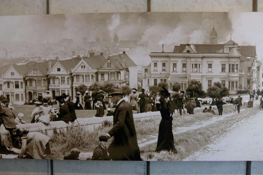 San Francisco foto terremoto 1906