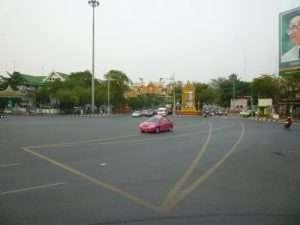 taxi rosa a bangkok