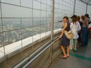 bangkok baiyoke sky tower piattaforma panoramica