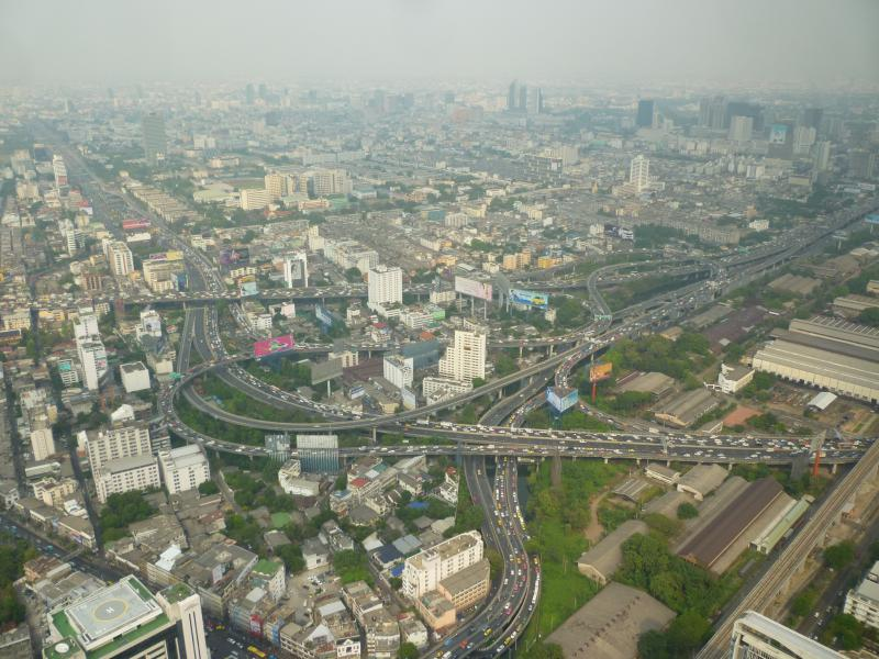 bangkok bayoke sky vista su incrocio autostradale