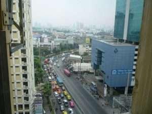 bangkok vista dalla camera
