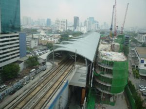 bangkok stazione dello skytrain