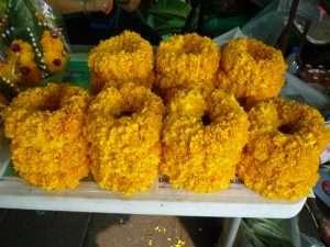 bangkok mercato fiori corone