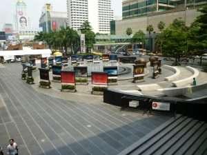 bangkok piazza dei centri commerciali