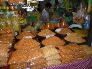chatuchak market cibi impacchettati