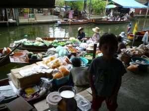 mercato galleggiante damnoen saduak