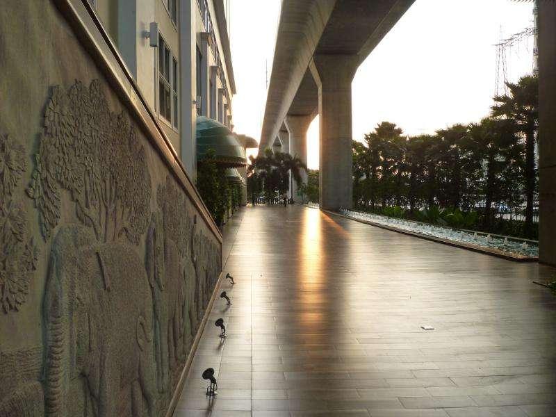 esterno hotel a bangkok