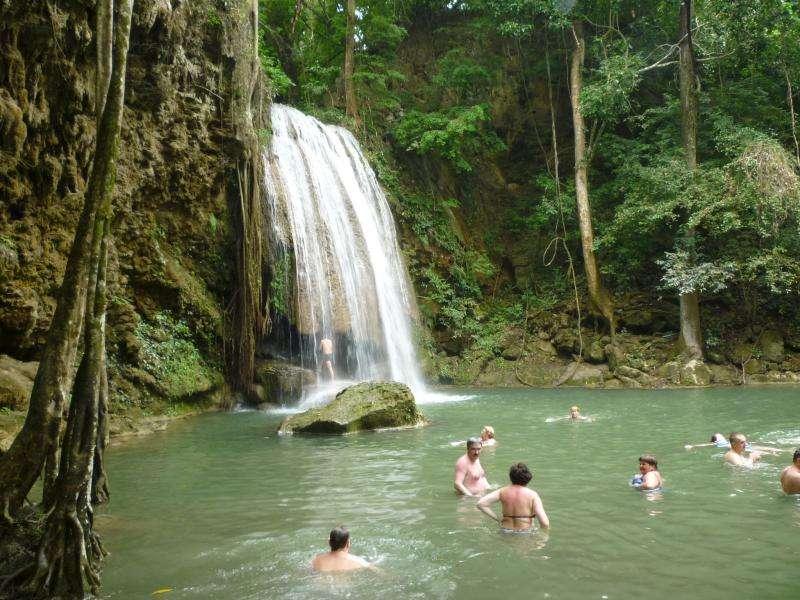 erawan cascate parco nazionale