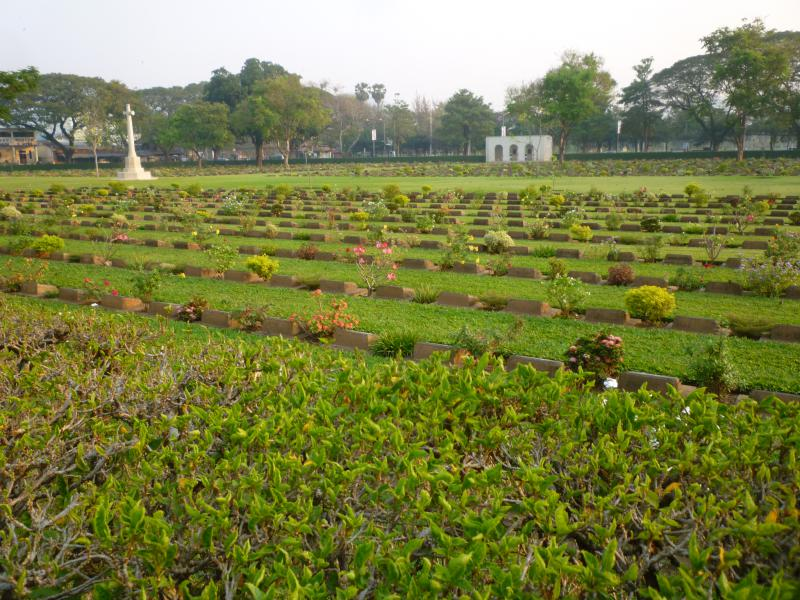 kanchanaburi cimitero di guerra