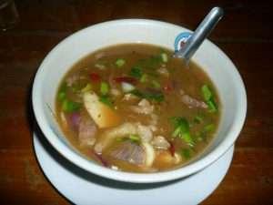 kanchanaburi zuppa a cena