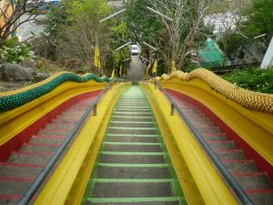 kanchanaburi scalinata colorata