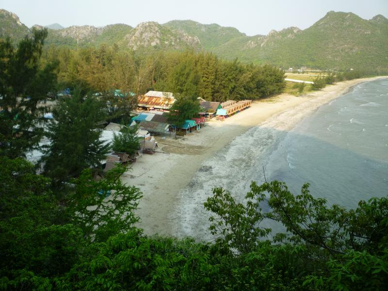 khao sam roi yot spiaggia
