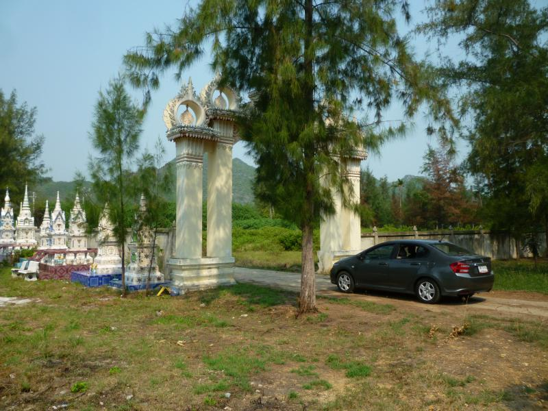 khao sam roi yot on the road