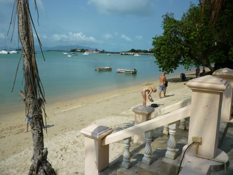 spiaggia del resort di ko samui