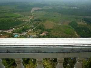 panorama dalla cima a krabi