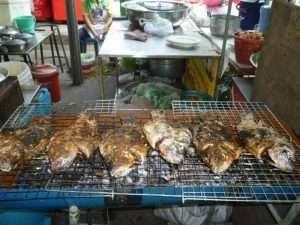 pesce grigliato a nadkhon patthon