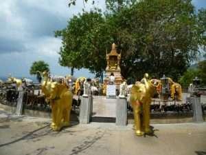 phuket altare degli elefanti